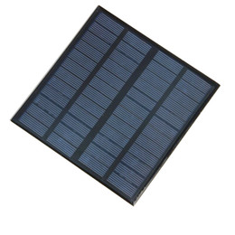 Wholesale Solar Cell 12v - High Quality 3W 12V Mini Solar Cell Polycrystalline Solar Panel Power Battery Charger 145*145*3MM 10pcs lot Wholesale