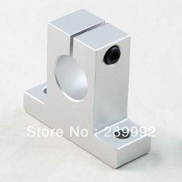 Wholesale Linear Rail Bearing Block - Wholesale- 10PCS SK12 12mm linear rail shaft support block for cnc linear slide bearing guide Parts