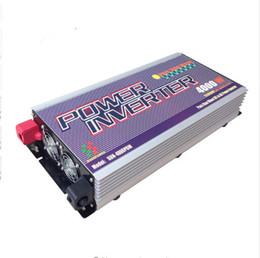 Wholesale Sine Wave Power Inverter Charger - 3000W 4000W Pure Sine Wave Power Inverter with Charger Peak 12000W DC 24V AC 120V 230V 240V select LCD display 10 years warranty