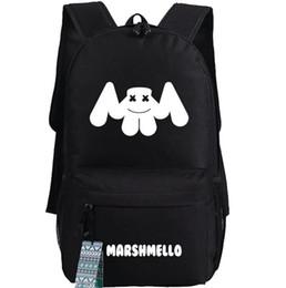 Marshmello zaino Super star Dotcom school bag Trap DJ daypack Zaino musicale Zaino outdoor Zaino sportivo da