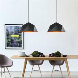 Wholesale Black Diamond Bar - Creative Diamond Loft Industrial retro Pendant lighting Iron art E27 base Vintage industrial lighting Restaurant bar ceiling lamp