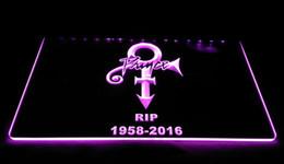 Wholesale prince music - LS1873-P-Prince-Symbol-RIP-1958-2016-Band-Music-LED-Neon-Sign