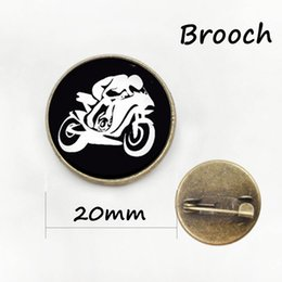 Wholesale Motorbike Cross - Steam punk Motorbike brooches new arrival promotion upscale motorcycle art picture creative motor riding sports badge pins