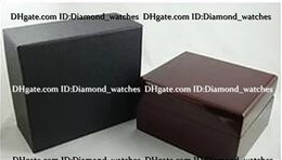 Wholesale Wholesale Timber Wood - Factory Supplier 50PCS LOT Brand new Jewelry Bracelet Watches Gift Boxes Timber No Logo 13CM*11.5CM Wooden Display Watch Box
