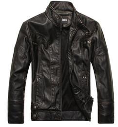 Wholesale Genuine Suede Jacket - High quality Men jacket 2017 new fashion brand motorcycle genuine leather clothing mens leather jackets and coats Suede Jacket Bomber JACKET