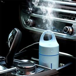 Wholesale Mini Usb Cup Air Purifier - New Car Humidifier via USB Charger Magic Cup Auto Car Air Purifier Aroma Diffuser MINI Aromatherapy Humidifier For Car Home LZ0143
