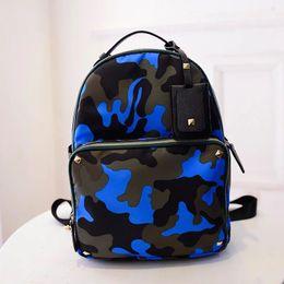 Wholesale Camouflage Fashion For Girl - 2017 Small Backpack for Teenage Girl Backpacks Bolsa Mochila Feminina Escolar Casual Nylon Waterproof Mini Women Bagpack