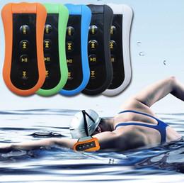 Wholesale 4gb Sports Waterproof Mp3 Player - Hifi 4GB Swimming Diving Waterproof MP3 Player Sport Mini Clip MP3 Music Player With FM Radio Headphones