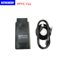Wholesale Tuning Ecu Programmer - DHL Free shipping MPPS v16 ECU Chip Tuning for EDC15 EDC16 EDC17 Inkl CHECKSUM Read And Write Memory