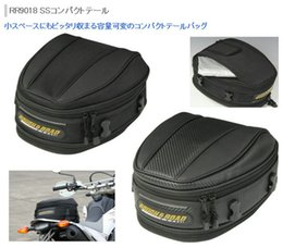 Wholesale Motorcycle Rear Seat Cover - Free shipping New arrival rr9018 rough road motorcycle rear seat package hangback bag 4wd after the bags rain cover cycling bags