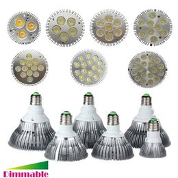 Wholesale E27 Cree Led 25w - E26 E27 LED 9W 10W 14W 18W 24W 30W 36W Dimmable PAR20 PAR30 PAR38 LED Light LED Ceiling Spotlight Lamp Bulb