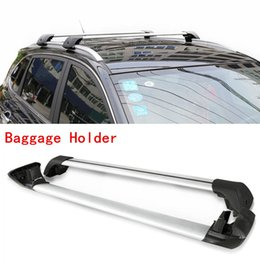 Wholesale 2PCS Car Vehicle Silver Aluminum Luggage Carrier Top Roof Rack For Ford Explorer DIY CASE