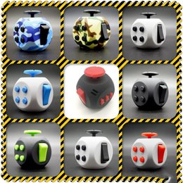 Wholesale Plastic Dice Toy - NW 20ny Generation Fidget Cube American Decompression Dice Anti Stress Hand Itch Irritability Cubes Puzzle Plastic Dices Toy Creative
