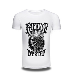 Wholesale Japanese Clothes Free Shipping - Camping T-Shirts T-shirt Top mens Clothing Japanese Skull Print T shirt men Printed Casual Style Tshirt Men's Top Cool Design Tee free ship