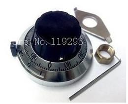 Wholesale Potentiometer Knobs Wholesale - Wholesale- [BELLA]Promotional 46MM B2 precision potentiometer knob dial knob adjustable resistance multi-turn knob 3590S--10pcs lot