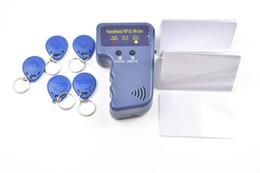 Wholesale Copier Card Reader - 125KHz RFID ID Card Reader & Writer Copier Duplicator Programmer+5pcsT5577Writable Tags+5pcs T5577 rewritable card Access Control