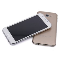 Wholesale A8 Wifi - Unlocked Goophone Smartphone A8 Android MTK6572 Dual CoreRAM 512 +ROM 4G 5.5 inch Cell Phone
