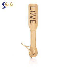 Wholesale Bdsm Paddles - LOVE Heart Spanking Paddle Whip Sex Toys For Couples BDSM Bondage Paddle Sex Tools For Sale Sex Toys For Woman Men Erotic Toys