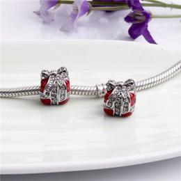 rote bandarmbänder Rabatt Rot geschenk weiß strass band legierung charme perle modeschmuck atemberaubenden europäischen stil fit für pandora armband armreif