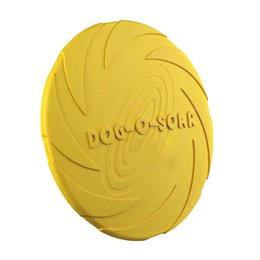 Wholesale Natural High Toys - High quality natural rubber pet dog frisbee flying disc training toy