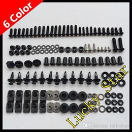 Wholesale 1992 Gsxr - 100% For SUZUKI GSXR600 GSXR750 GSXR 600 750 GSX R600 R750 1992 1993 1994 1995 92 93 94 95 Body Fairing Bolt Screw Fastener Fixation Kit S-1