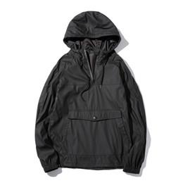 Wholesale Leather Jacket Hoodie - Wholesale- New Fashion Autumn Men's PU Leather Hoodies Men Jacket Tracksuits High-quality Winter Men Slim Fit Front Pockets Men Sweatshirt