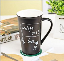Wholesale Starbucks Ceramic Coffee Cups - HOT High Quality Starbucks ceramic coffee cup 401-500ml Starbucks Matt cup with cover and spoon Mug free shipping