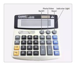 Wholesale Free Mini Calculator - Hot free 8GB Real Office Business Calculator Hidden Pinhole mini Camera DVR Video Recorder Mini Camcorders Free