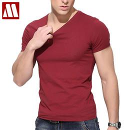 Wholesale T Shirt Design Army - Wholesale- Short Sleeve tshirt long stapled cotton t shirt men 2017 Brand Design summer mens fitness t shirts fashion brand t shirt 5XL