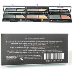 Wholesale Brow Shader - new makeup 2 color eyebrow powder BROW SHADER derfard poudre pour les sourcils 3g free shipping