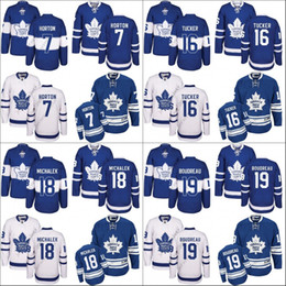 Wholesale Toronto 19 - 2017 Centennial Classic Men's Toronto Maple Leafs 7 tim horton 16 DARCY TUCKER 18 Milan Michalek 19 Boudreau Hockey Jerseys stitched S-3XL
