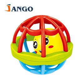 Wholesale Crawling Puzzle - Wholesale- Simple and fun colorful puzzle soft hand roll ball baby sound color grip crawl 3132