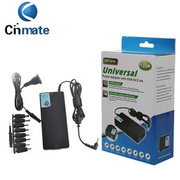 Wholesale Chargers Wholesale China - SP26 120W Universal Laptop Power Supply 12-24V Switching Adapter Charger with USB 5V 2.4A