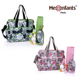 Wholesale Diaper Wipes - Diaper bag waterproof nappy bag outdoor stroller travel Tote Shoulder mommy bag New fashion Mes Enfants