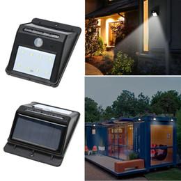 Wholesale Lights Sensor Auto Off - Solar Light Waterproof Outdoor 8LED Light Solar Energy Powered Motion Sensor Detector Activated Auto On Off Lamp