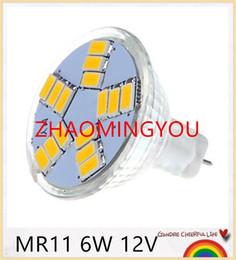 Wholesale Mr16 Mr11 - 10pcs lot New MR11 MR16 Led Lamps 3W 6W 9LEDS 15LED 5730SMD LED Bulbs Spotlight Warm White  White Light LED Spot Bulb 12V