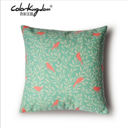 Wholesale Pillow Covers Country - Wholesale American Country Style Cushion Pillows, Classical Bird Cushions, Sofa Cushions, Home Decor,Decorative Pillow Covers customizable