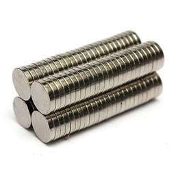 Wholesale Circular Magnets - 100pcs Dia. 8mm x 1.5mm N50 Round Magnet Rare Earth Neodymium Permenent Magnets Circular Art Craft Fridge Magnet 8 x 1.5mm