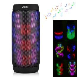 Wholesale Speaker Pro - Creative AEC BQ-615 Pro Bluetooth speaker HiFi Bass Subwoofer with MIC,TF Card MP3,FM Radio +EDR Stereo Music Pluse Lamp Speaker