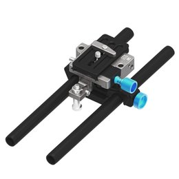 Wholesale Bmcc Rig - FOTGA DP500III QR 15mm Rod Baseplate Rig for A7 A7S FF BMCC FS700 A7 II 5D2 5D3