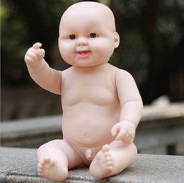 Wholesale Doll Baby Education Toys - Free Shipping!50CM simulation baby rebirth dolls soft Ruanjiao   baby bath lovely children early education toys mannequin B267