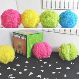Wholesale Mop Ball - Creative Mop Ball Set Mini Automatic Rolling Cleaning Robot Vacuum Cleaner Home Clean Helper Multi Colors 25yt C R