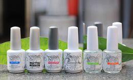 Wholesale Harmony Quality - Top quality Harmony Gelish Polish color gel LED UV Gel nail polish Nail art lacquer Soak off French nail top foundation
