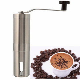 Wholesale Coffee Maker Bean - Stainless Steel Hand Manual Coffee Bean Grinder Mill Kitchen Grinding Tool