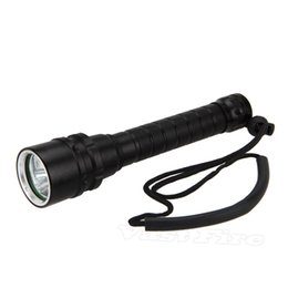 Wholesale Diving 3x - NEW 18650 Diving Flashlight 365-395nm 3x XPE UV LED Light Scuba Underwater 100M Torch Free Shipping