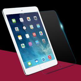 Wholesale Ipad3 Screen Protector Retail - Wholesale- Hot for iPad 2 3 4 Tempered glass screen protector for ipad2 ipad3 ipad4 9.7inch with retail package box protective film