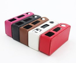Wholesale Evic Casing - Evic Vtc Mini Case Leather Case Bag Sleeve Cover For Evic Vtc Mini 60watt Evic FREE SHIPPING