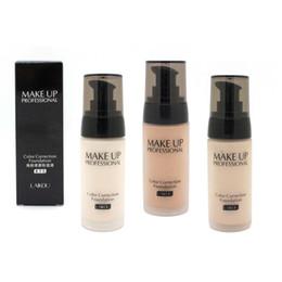 Wholesale Perfect Combinations - Wholesale-3 Colors Laikou Makeup Face Foundation Liquid Perfect Cover Concealer Long Lasting Moisturizing Oil-control Facial Base Liquid