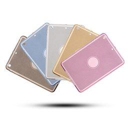Wholesale Tpu Shiny Gel Case - Shiny Sparkle Glitter Bling Case Clear Soft TPU Transparent Gel Silicone Bumper Tab Case For iPad Air Pro Mini 1 2 3 4 9.7 12.9
