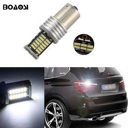 2019 bmw e46 ampoules LED 30SMD 1156 led éclairage de la voiture Ba15s S25 sauvegarde inversée ampoules pour BMW 3/5 SÉRIE E30 E36 E46 E34 X3 X5 E53 E70 Z3 Z4 bmw e46 ampoules pas cher